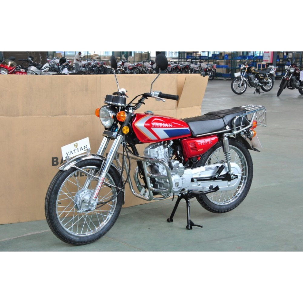 China manufacturer good quality gas powered street bike 125cc motorcycle