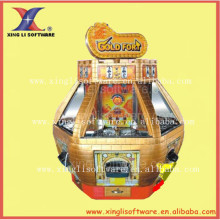 Gold Fort , Coin Operated Amusement Park Coin Pusher Arcade Game Lottery Machine Redemption Game Machine