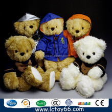 custom wholesale soft plush stuffed teddy bear toy
