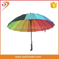 Hot selling logo Printed windstorm golf umbrella price