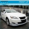 FOR 2009 2010 LEXUS IS250 IS350 IN-S STYLE FRONT BUMPER SPOILER POLY URETHANE DIFFUSER