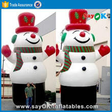 Outdoor lovely christmas ornaments inflatable snowman