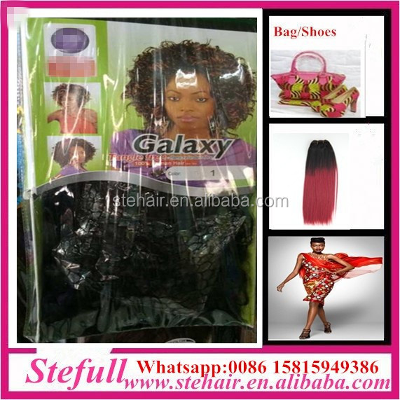 Stefull hair good quality no tangle japanese fiber two colored angel hair products kenya