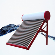 6 Years Quality Assurance 100 Liters Compact Open Loop/Low Pressure Solar Water Heater, Vacuum Tube Solar Water Heater