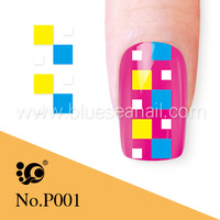 glow in the dark nail polish nail sticker