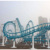 Theme Park Thrilling Amusement Equipment 4 Loops Roller Coaster for sale