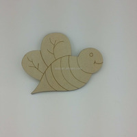 unfinished wood craft shapes wood cut cute honeybee shape wood toy