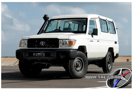 2015 TOYOTA LAND CRUISER HARD TOP TROOP CARRIER 4200 DIESEL - HZJ78R-RJMRS