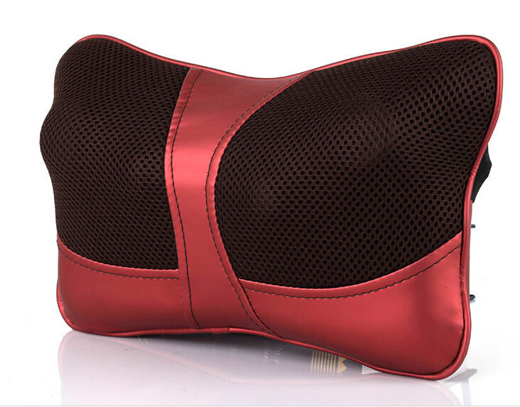 Shiatsu Deep Kneading Massage Pillow with Heat / Massage, Relax, Sooth and Relieve Neck, Shoulder and Back Pain
