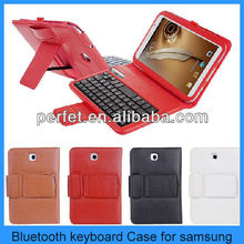 Detachable keyboard import PU wireless bluetooth keyboard case for galaxy note 8 mini bluetooth keyboard