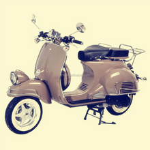 uniquie Italalian roma vespa px style hot sale 50cc 125cc 150cc gas scooter with pedal
