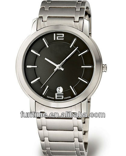 luxury stainless steel watch men's design watch 2013 new style