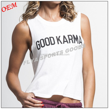 New Women Fashion Gym Fitness Wear Print Stringer Sleeveless T-shirt Crop fit Workout Tank Top