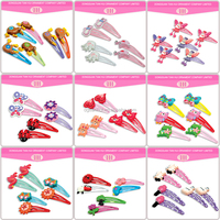 big discount girl hair accessories harmless resin metal happy rainbow shaped kids korean u shaped hair pin for hair