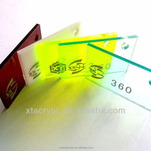 Sell acrylic sheet pitch 3mm 6mm pastel plexiglass sheets