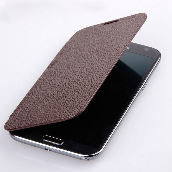 battery back cover flip leather smart cover case for Samsung Note 3 phone case in electronic market guangzhou
