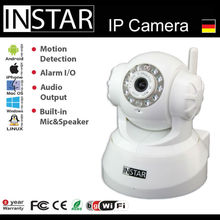 German Pan&Tilt Wireless IP Camera color screen baby monitor for iPad
