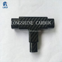 High Performance Reinforcement carbon fiber connectors for square tube