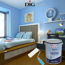 Digital Color anti-fungus wall paint primer with alkali resistance.