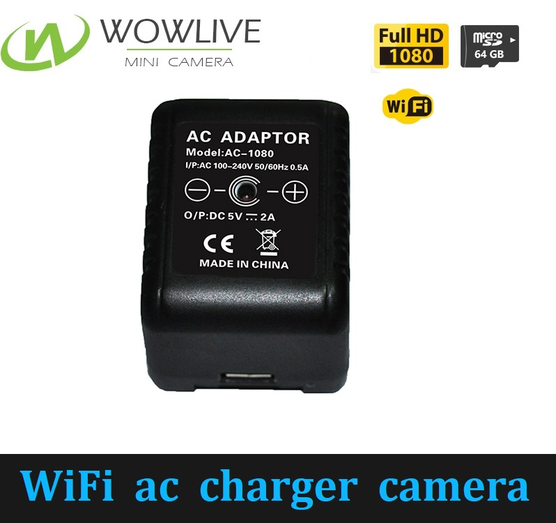2017 New <strong>WiFi</strong> 1080P AC Power Adapter 3.0 Megapixels CCTV Security Camera