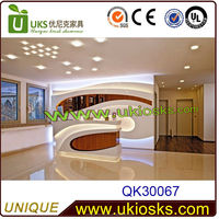 2014 new office furniture office counter design, reception counter, modern office front counter design