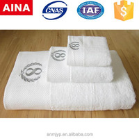 ELLA luxiry embroidered Logo,high -grade, 5-star hotel towel set