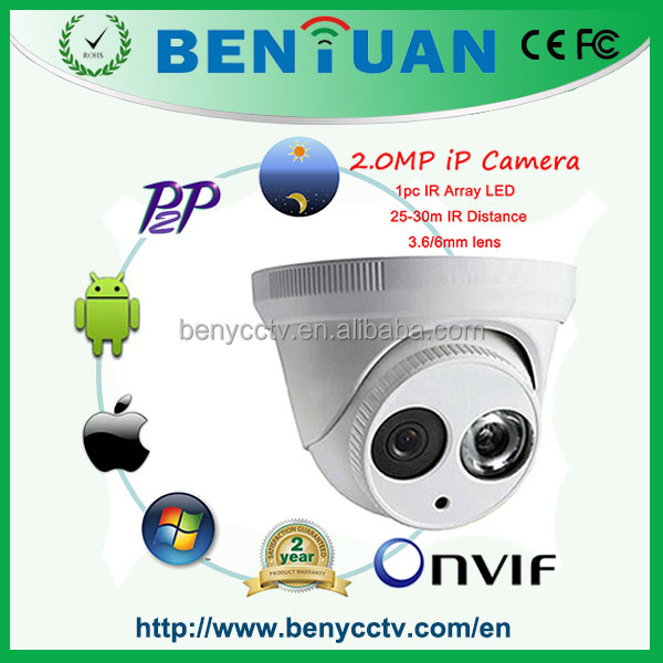 2015 Factory Price and High Quality Onvif P2P Full HD 1080P IP Camera, home security ip camera system