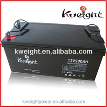 Batteries solar 12V 200AH gel battery required to store electricity