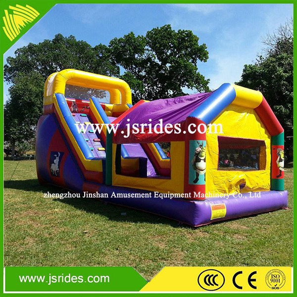 inflatable bouncy slide/inflatable bounce house with slide/inflatable combo bounce with slide