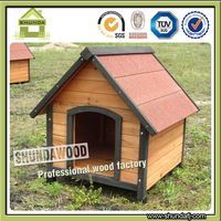 SDD08 Solid Wood Dog House Kennel for Small Animal
