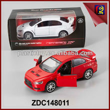 1:32 Diecast Mitsubishi Model Pull Back Car ZDC148011