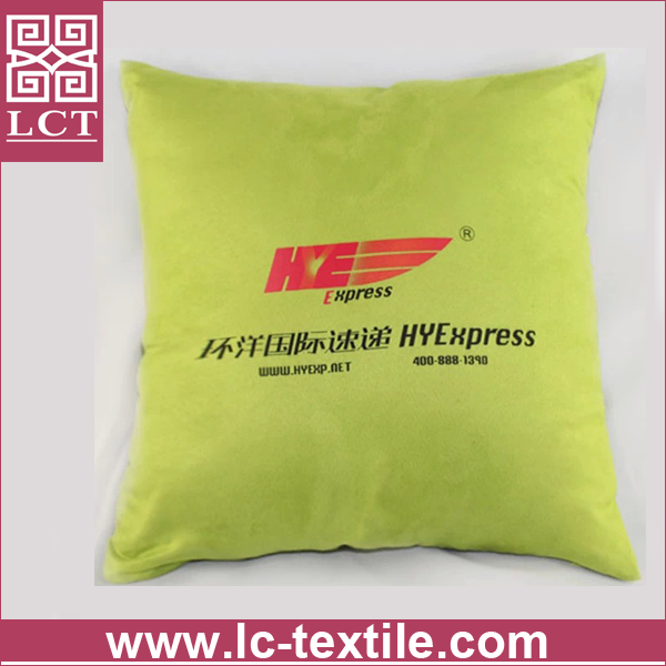 wholesale made of high quality suede nap fabric handmade square cushion with invisible zipper design(LCTP0088)