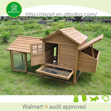 Fashional fir wood luxury chicken coop plastic large