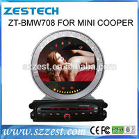 ZESTECH touch screen car radio gps for BMW MINI COOPER S R56 GPS car radio navigation dvd gps multimedia bluetooth