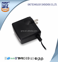 GME 5v USA Wall Mount Adapter 3000ma AC / DC Power Adapter