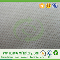 Good quality nonwoven fabric for shoe lining Clothing lining raw material