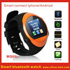 2013 new Smart bluetooth watch phone for Android smart phone MQ88L