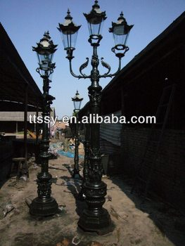street lamps for sale buy cast iron street lamps for sale iron lamp. Black Bedroom Furniture Sets. Home Design Ideas