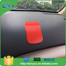 Eco-friendly strong PU sticker car dashboard non anti slip mat with low price
