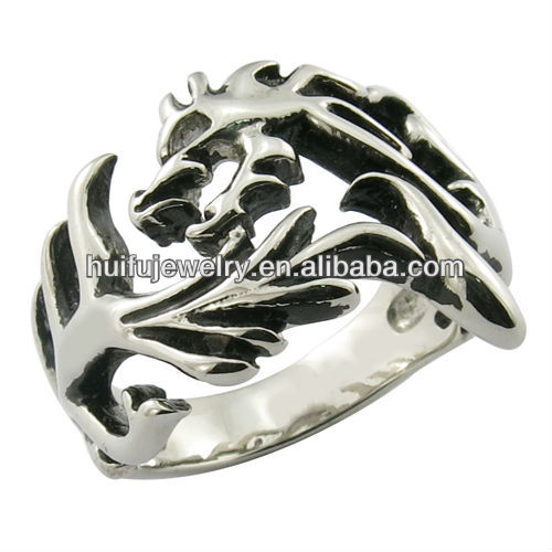 animal shape fashion rings Dragon