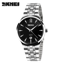 2017 japan movt 3atm wristwatches men brand stainless steel black watch