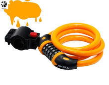 High Security 5 Digit Resettable Combination Coiling Cable Lock Best for Bicycle Outdoors