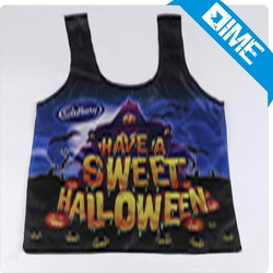 Customized Foldable Halloween Cotton Shopping Bag