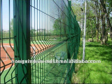 Solid plastic garden fence from factory for sales