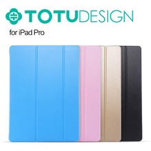 TOTU Think thin series ultra thin leather bracket case for iPad pro with Auto Sleep/Wake Function