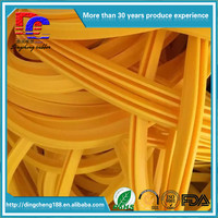 Good Quality High Temperature Tolerance Rubber Weatherstrip Rubber Strip Door Seal