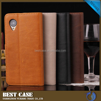 wallet book leather flip case for lenovo a1000 mobile phone case