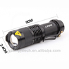 Waterproof Q5 3 Dimming Modes Hightlight Torch Flashlight