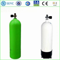 European Market Lightweight High Pressure Scuba Diving Oxygen Tank