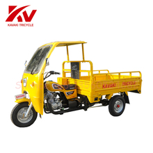 2017 Hot sale KAVAKI gasoline adults tricycle With Simple Cabin in Africa Market